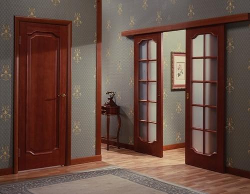 Ширина дверных проемов снип