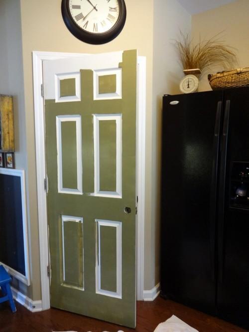 Покраска деревянных дверей: как 51