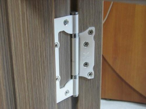 С таких петель дверь не так просто снять