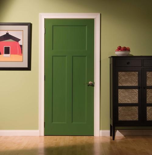 Как покрасить межкомнатные двери в белый цвет