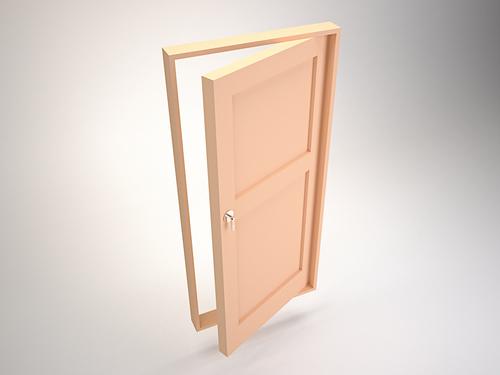 Дверь традиционной конструкции