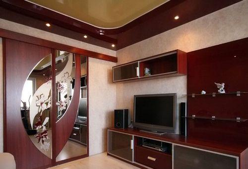 Сочетание мебели и дверей