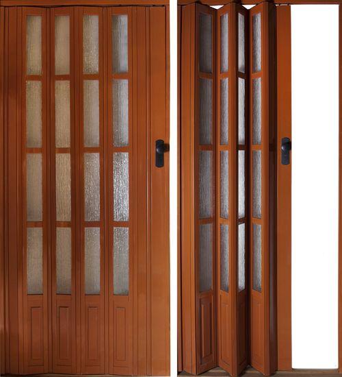 Пластиковые двери гармошка