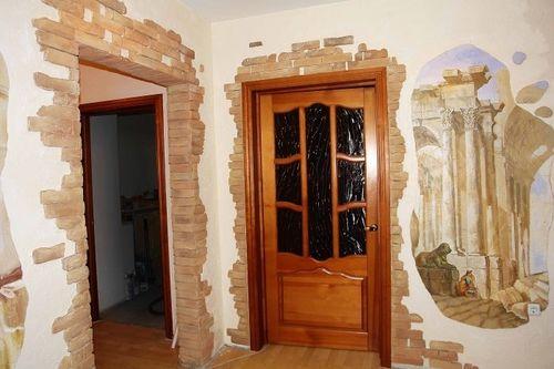Декоративная отделка дверей