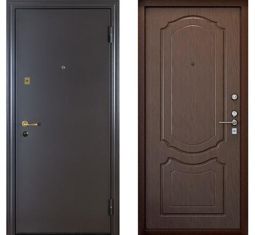 Китайские металлические входные двери
