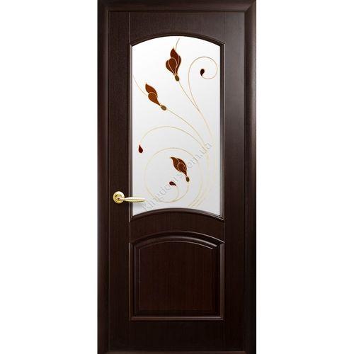 Двери экошпон венге