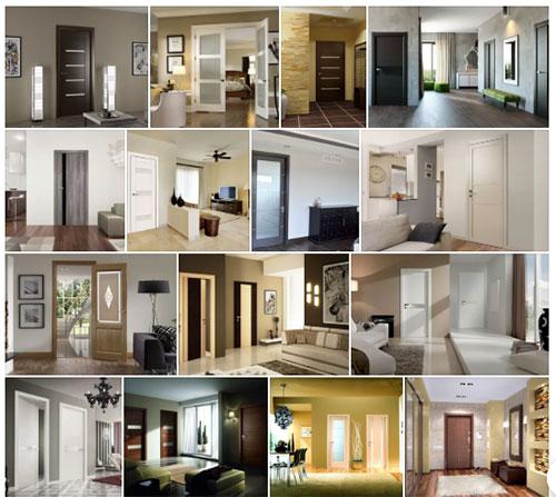 Роль межкомнатных дверей в интерьере